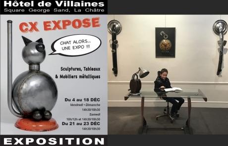 Exposition – La Châtre – Square George Sand
