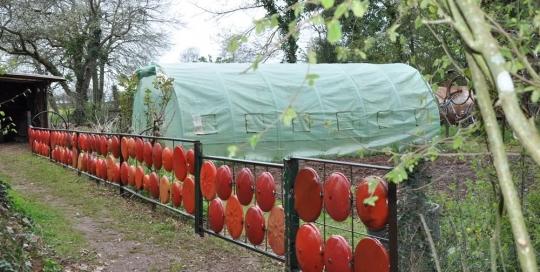 Clôture tomate du jardin 2018 : Xavier Carnet